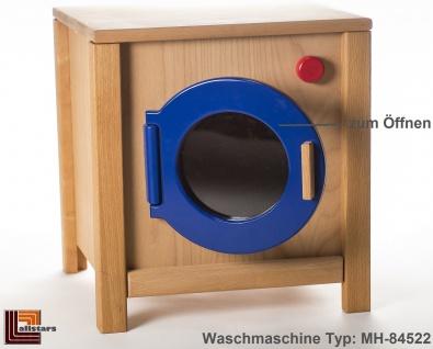 Allstars Kinderküche Waschmaschine H = 45, 5 cm Spielküche aus Buchenholz
