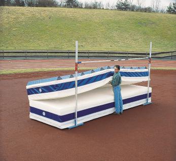 Turnen klappbar & fahrbar Hochsprunganlage 5 x 3 m Schulsport Hochsprung Bänfer - Vorschau 2