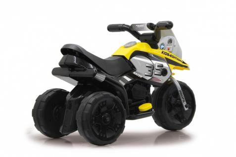 Jamara Kinderauto Elektro-Trike Elektroauto Ride-on E-Trike Racer gelb - Vorschau 2