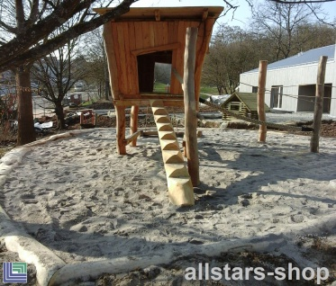 Stelzenhaus für Spielkombination - Rohracker Uhlbach - Spielhaus auf Stelzen ohne Kletternetze
