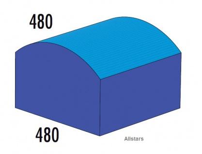 Bänfer Softbaustein Hügel 480 x 480 mm Medi Schaumstoff-Bausteine Großbaustein