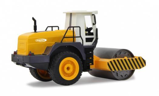 Jamara RC Auto Straßenwalze 1:20 Rüttelfunktion 2, 4GHz Baufahrzeug Funk - Vorschau 2