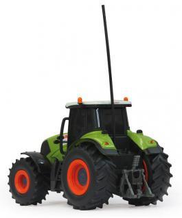 Jamara Claas RC Axion 850 Traktor 1:28 mit Anhänger Landmaschine grün RC-Auto - Vorschau 2