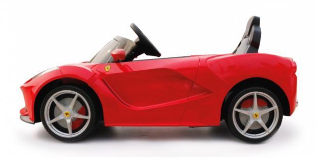 Jamara Ride On Ferrari LaFerrari Kinderauto Elektroauto rot 2, 4G 6V - Vorschau 2