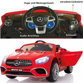 Jamara Kinder-Auto Elektroauto Mercedes SL 65 AMG Ride On Car mit E-Motor rot - Vorschau 4