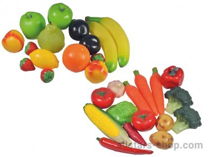 Allstars Gemüse- und Früchte-Set, 30-teilig Obst Spielessen