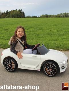 Jamara Kinderauto Elektroauto Ride On Car Bentley EXP12 weiß Cabriolet Kids - Vorschau 4