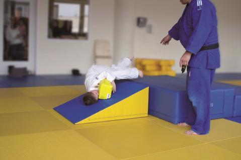 Turnen BUDO Trainingskeil midi Schaumstoff Kampfsport Judo Breitensport Bänfer Trainingsmodul