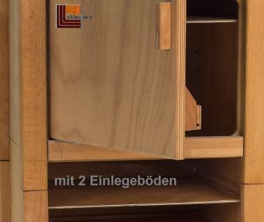 Allstars Kinderküche 1 Kühlschrank H = 65, 5 cm Spielküche aus Buchenholz - Vorschau 2
