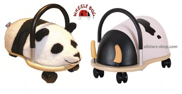 Wheely Bug Rutscher Kuh und Panda Kleinkindrutscher klein 360 Grad rundum allstars
