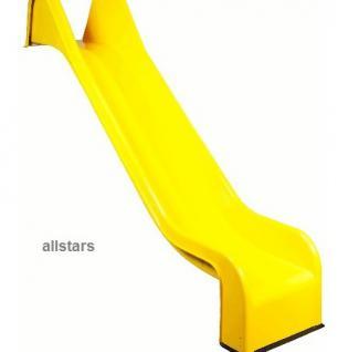 Beckmann PE-Rutsche 3, 31 m einteilig gelb Podesthöhe 2 m Rutsche