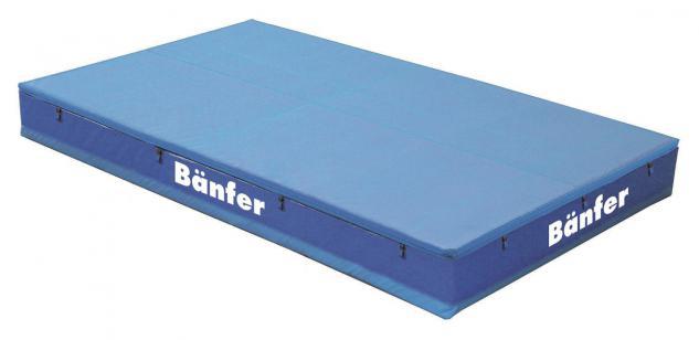 Turnen Hochsprunganlage Super 4 x 3 m wendbare Schleißmatte Sport Bänfer