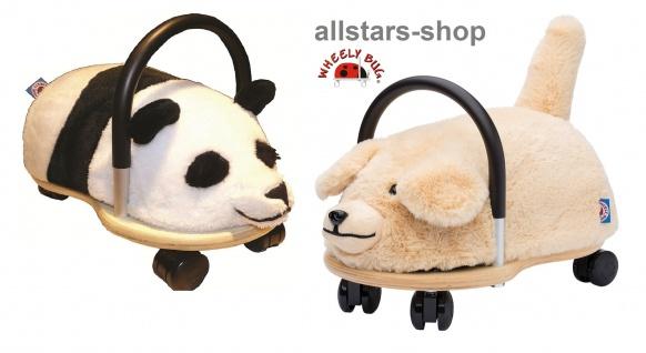 Wheely Bug Rutscher Hund und Pandabär Kleinkindrutscher klein 360 Grad rundum allstars