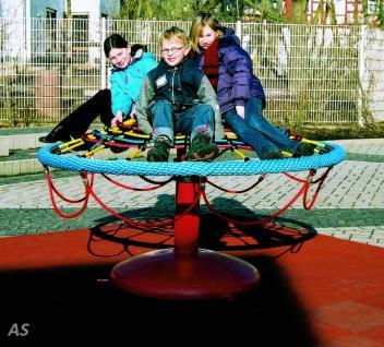 Hally-Gally Pilz-Kreisel City Karussell Minikarussell Drehturm Standmodell Stahl
