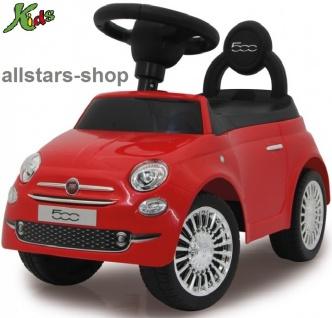 Jamara Fiat 500 Kinder-Auto Rutscher Lauflernwagen Rutschauto rot für Kindergarten