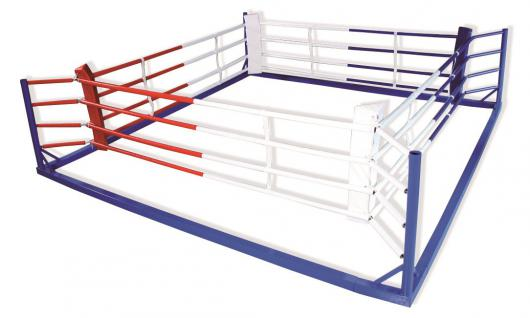 Sport Boxring Box-Flachring 4 Seile Fitness verstellbar Breitensport Bänfer