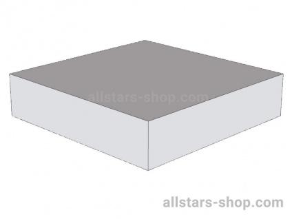 Bänfer Snoezel Element Podest Quadrat weiß