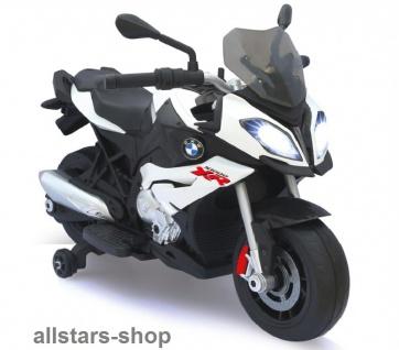 Jamara Kinder-Motorrad Ride On BMW S1000XR Motorbike mit E-Motor weiss - Vorschau 2