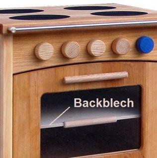 Schöllner Kinderküche Ofen Vario mit 4 Herdplatten für Spielküche Erlenholz Pantry für Kindergarten - Vorschau 3