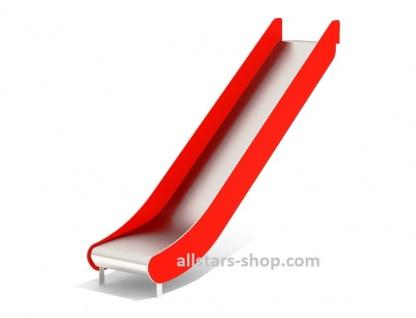 Beckmann Rutsche GFK mit Edelstahlrutschfläche Anbaurutsche V2A Podesthöhe PH 1, 50 m