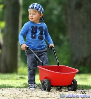 Dragon Toys Kinderschubkarre Schubkarre Gartenkarre Gartenschubkarre bis 50 kg rot