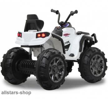 Jamara Kinder-Auto Ride On Quad Protector mit Elektromotor Motorrad weiss - Vorschau 2