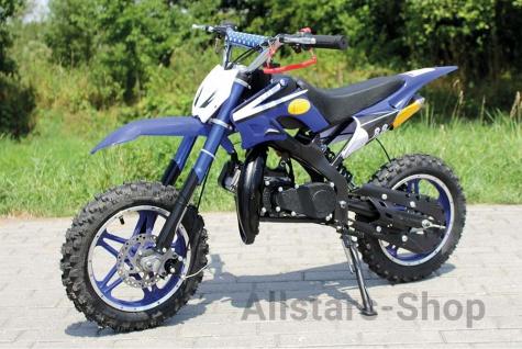 Actionbikes Kinder Mini Crossbike Delta 49 cc 2-takt Miweba