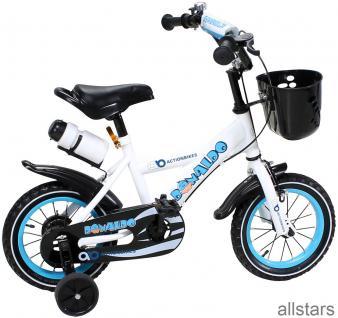 Kinderfahrrad 12 Zoll Hello Donaldo blau Fahrrad ActionBikes Miweba
