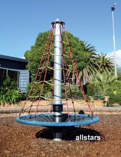 Hally-Gally Spogg Spiralkreisel Karussell Kletterturm Drehkreisel Spielplatzgeräte