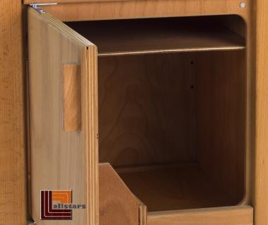 Allstars Kinderküche 1 Kühlschrank H = 45, 5 cm Spielküche aus Buchenholz - Vorschau 2