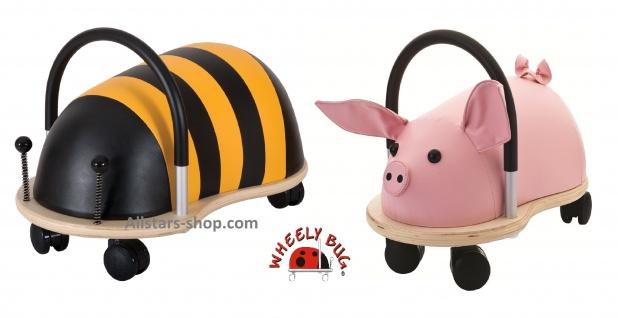 Wheely Bug Rutscher Biene Maja und Ferkel groß Kleinkindrutscher mit 360 Grad Wendekreis Allstars
