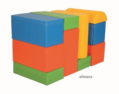 Bänfer Bausteinsatz 17-tlg. Softbausteine MAXI Bausteine Großbausteine Schaumstoff - Vorschau 4