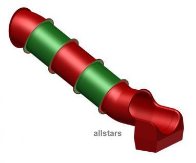 Beckmann Rutsche Röhrenrutsche L= 4, 3 m PH= 2, 0 m Modulröhrenrutsche - Vorschau 1