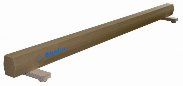 Turngerät Übungsschwebebalken 5 m Aluminium-Kern Schwebebalken Schulsport Bänfer