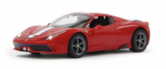 Jamara RC Auto Ferrari 458 Speciale A 1:14 rot Verdeck 27 MHz Funk