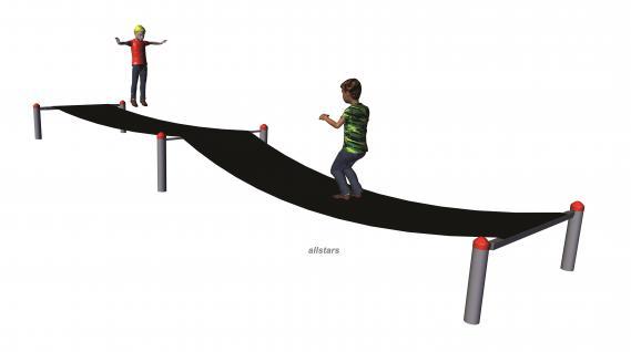 Huck Gummi-Jumper Spielplatzanlage Trampolin Spielparcours Sprunganlage