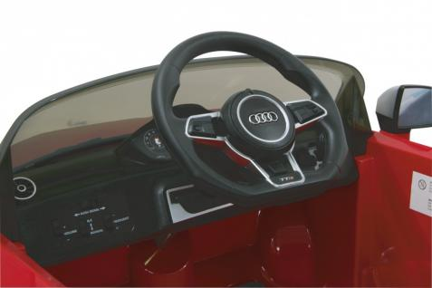 Jamara Kinderauto Elektroauto Elektro Ride on Car Audi TTS Roadstar Auto rot - Vorschau 4