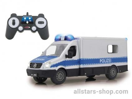 Mercedes-Benz Polizei Einsatzwagen 1:18 mit Fernbedienung von Jamara