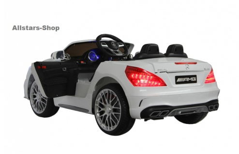 Jamara Kinder-Auto Mercedes SL 65 AMG Ride On Car mit Elektromotor Farbwahl - Vorschau 2