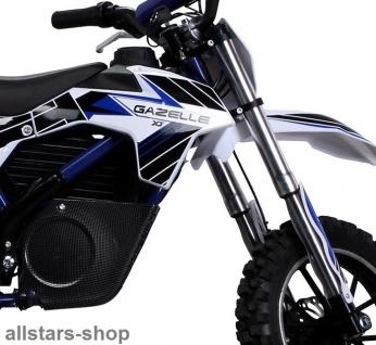 Actionbikes Kindermotorrad Kinder-Crossbike Poketbike Gazelle E-Motorrad blau - Vorschau 5
