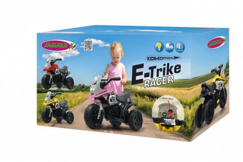 Jamara Kinderauto Elektro-Trike Elektroauto Ride-on E-Trike Racer rot - Vorschau 2