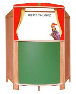 Schöllner Theater Kinder-Puppentheater Kaspertheater mit Tafel Kindertafel für Kindergarten