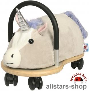 Allstars Wheely klein Bug Rutscher Einhorn Lyria klein Kleinkindrutscher mit 360 Grad Wendekreis