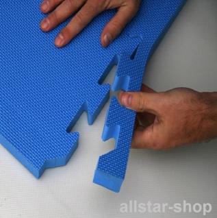 Bänfer Fallschutzmatte Vario Step blau 4 Stück Steckmatte Spielmatte - Vorschau 5
