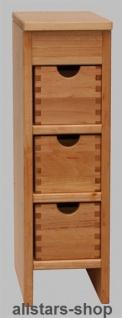 Schöllner Beistellschrank für Kinder-Küchenmöbel, für Kinderküche Spielküche Star Maxi aus Holz für Kindergarten