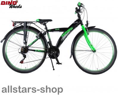 """Allstars Dino Wheels Bikes Thombike Kinderfahrrad Jungenfahrrad 26 """" mit 21-Gang-Ketten-Schaltung grün - Vorschau 5"""