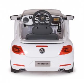 Jamara Ride On VW Beetle Kinderauto Elektroauto weiß 2, 4G 6V - Vorschau 3