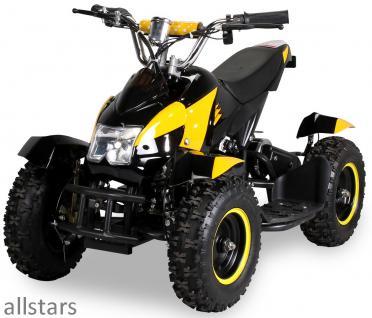 Allstars Pocketquad gelb Cobra 800 Watt Miniquad - Vorschau 3