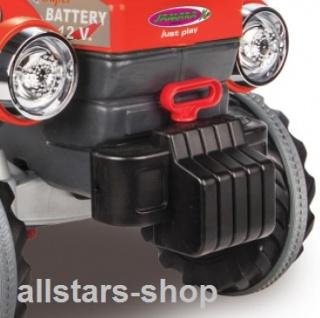Jamara Kinder-Auto Ride On Traktor mit Elektromotor Trecker Elektro-Tractor rot - Vorschau 4