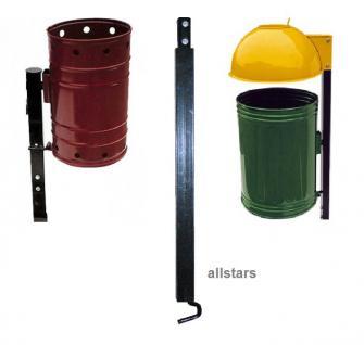 Beckmann Eisenpfahl für Abfallbehälter Typ 1 + 6 Montagepfahl Mülleimer Pfosten